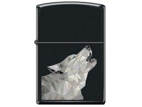 Zippo 26896 Polygonal Wolf