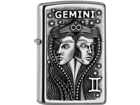 Zippo zapalovač 25551 Gemini Zodiac Emblem