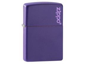 Zippo 26097 Purple Matte Zippo Logo