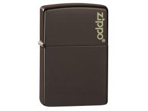 Zippo 26911 Brown Zippo Logo