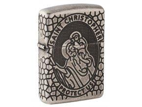 Zippo 27164 St. Christopher Medal Design