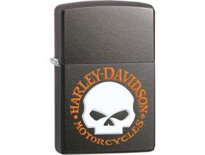 Zippo 26643 Harley-Davidson® Orange Skull