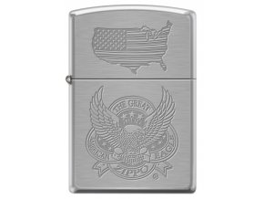 Zapalovač Zippo 21922 The Great American Eagle