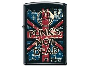 Zapalovač Zippo 26938 Punk's not Dead