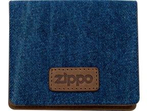 44160 Kožené pouzdro na kreditní karty Zippo