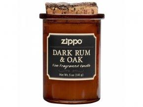47050B Zippo svíce - Dark Rum & Oak