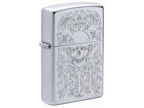 Zippo zapalovač 20959 Skull Design