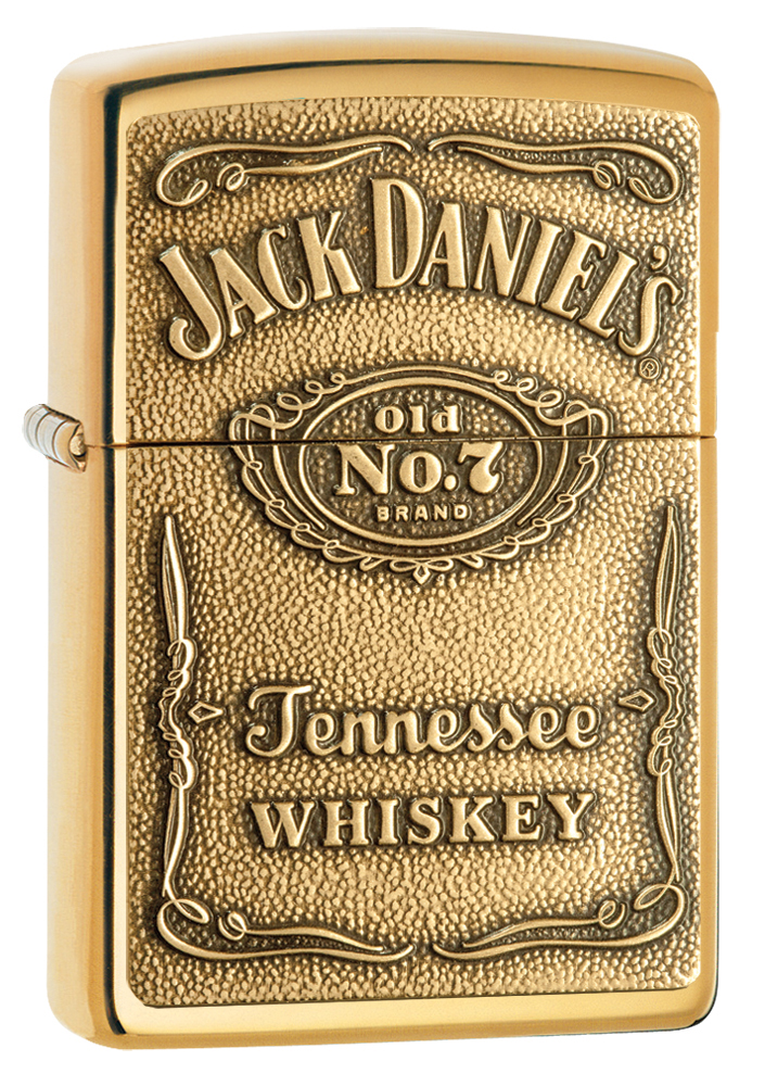 Zippo 24146 Jack Daniel's® Label - Brass Emblem