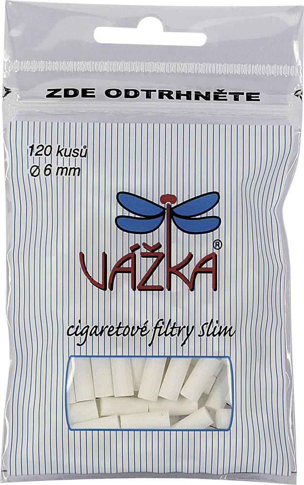 14026 Cigaretové filtry Vážka Slim 6mm