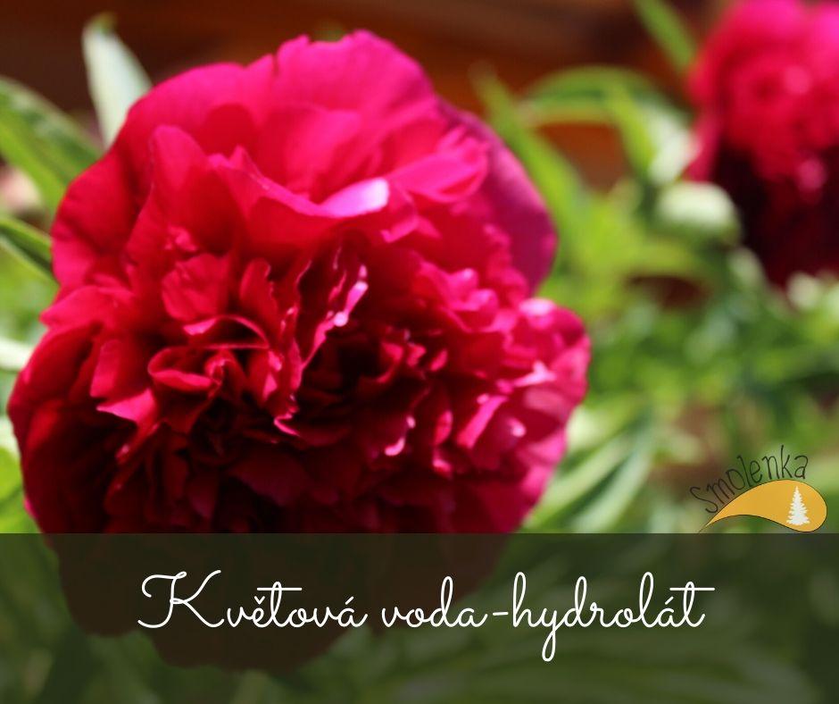 Květová voda - hydrolát