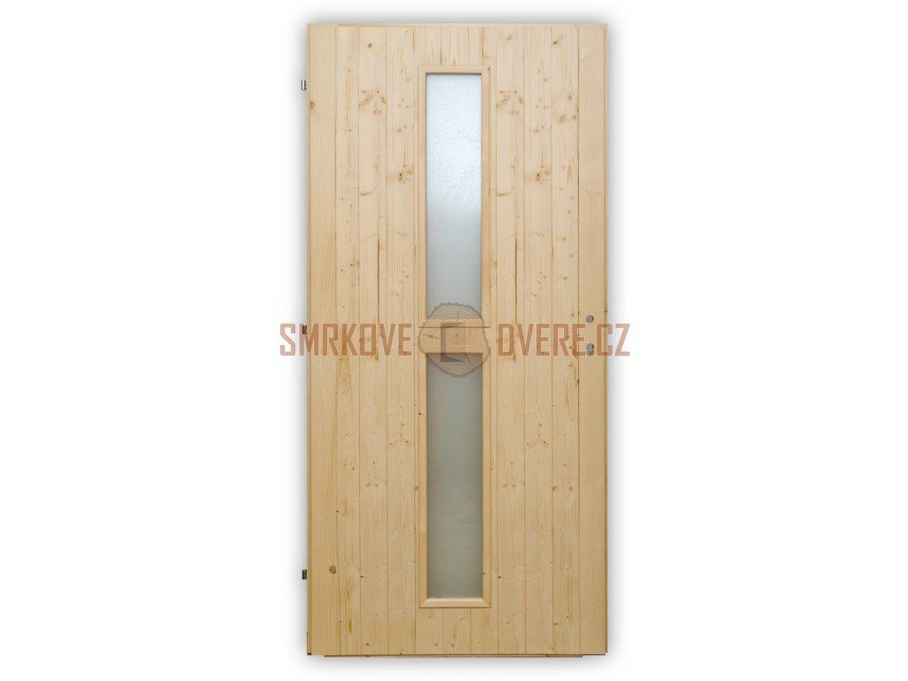 Palubkové dveře Vertikal střed