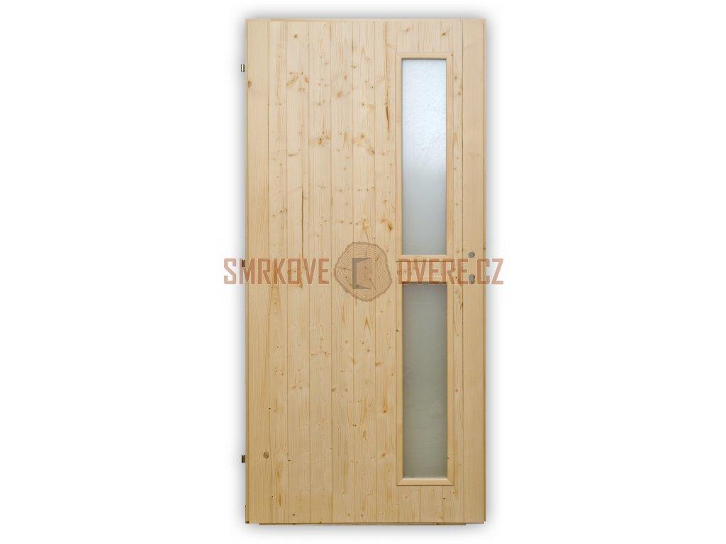 Palubkové dveře Vertikal zámek