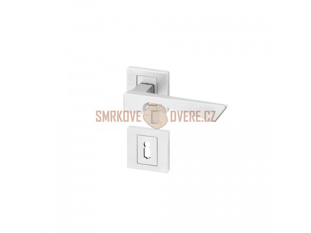 ANO00052 8591912077065 ACT Dverni kovani Design Corvo R HR BB matny chrom KK