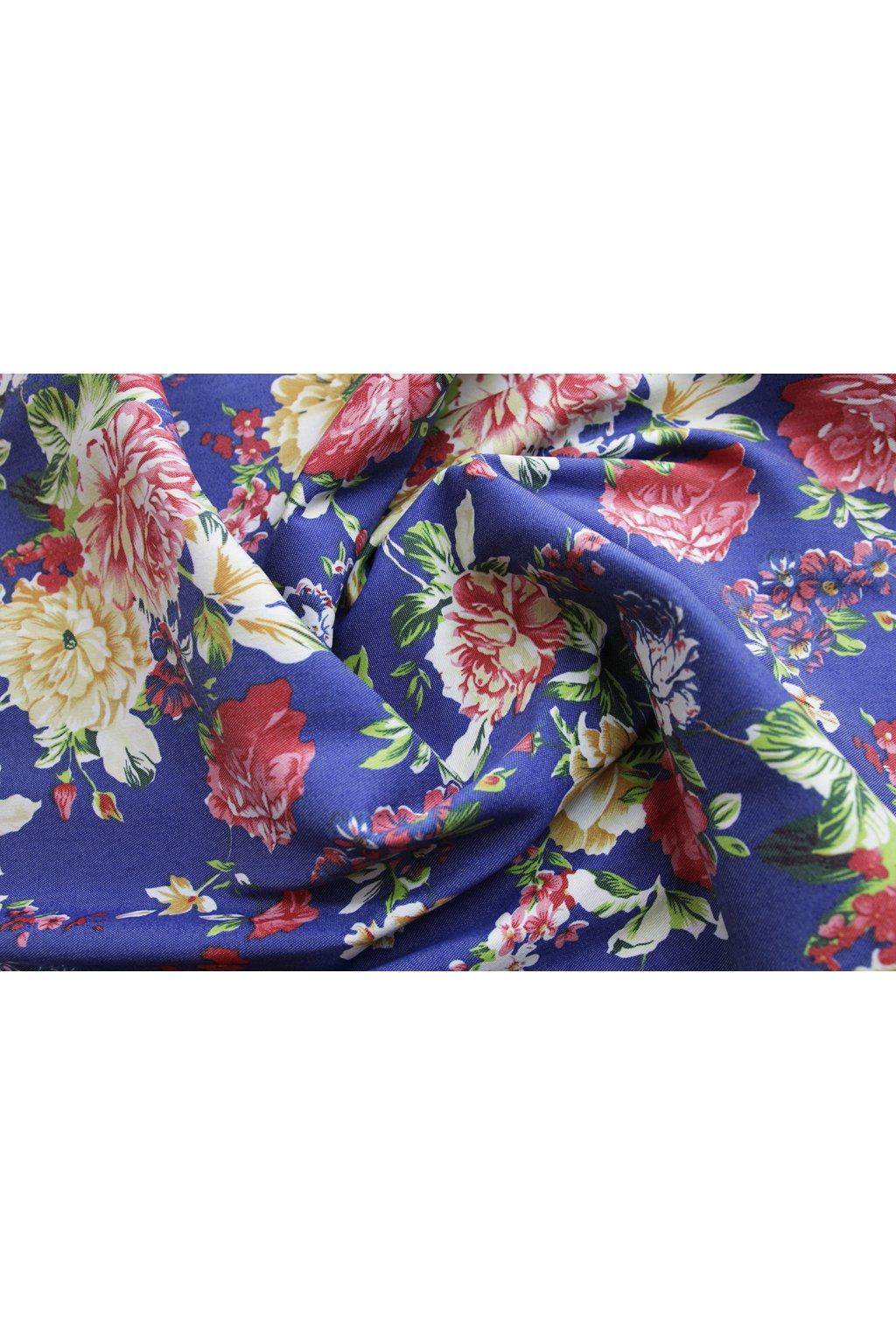 Jeans Květy