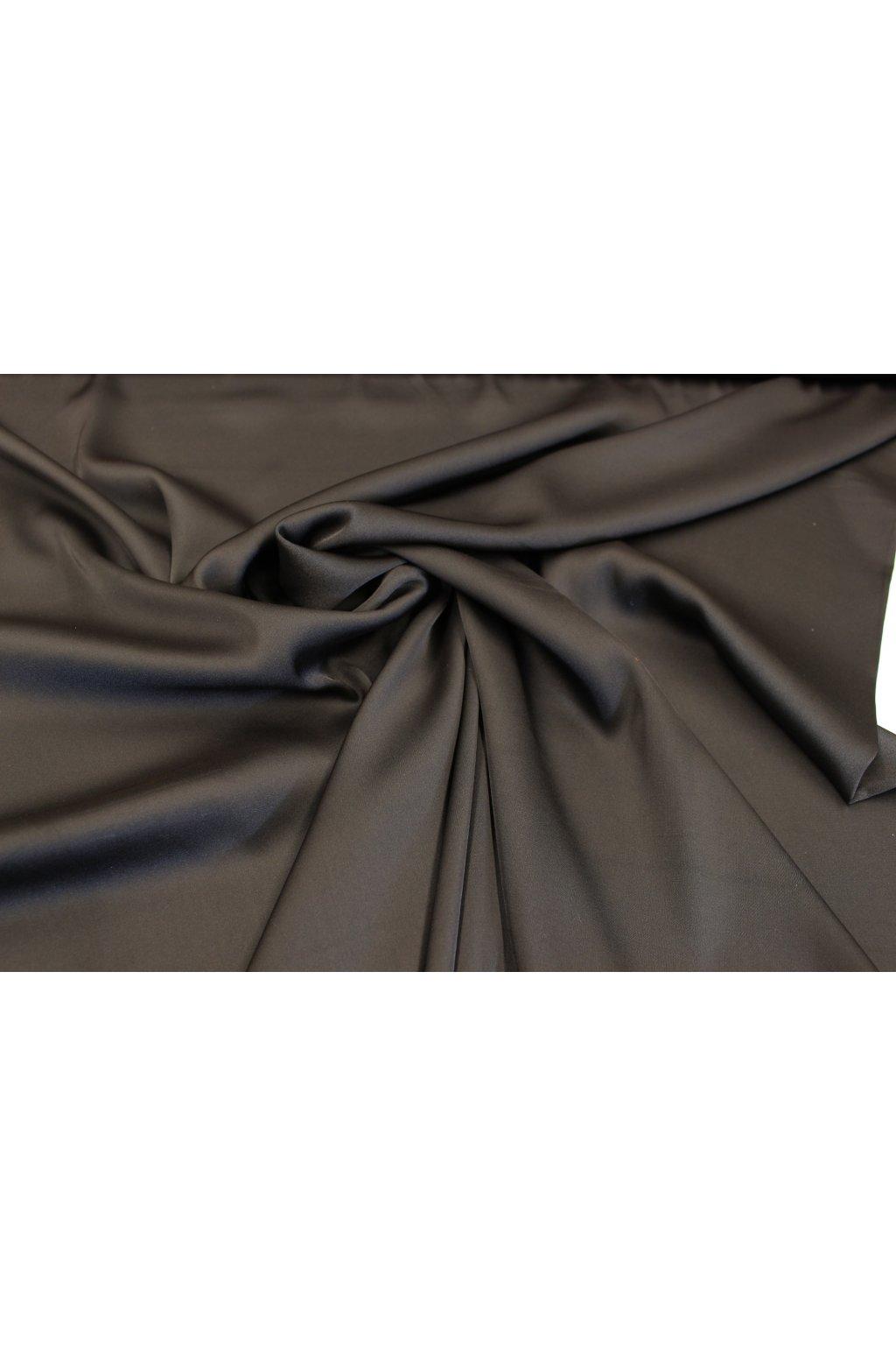 Šatovka hedvábí -black