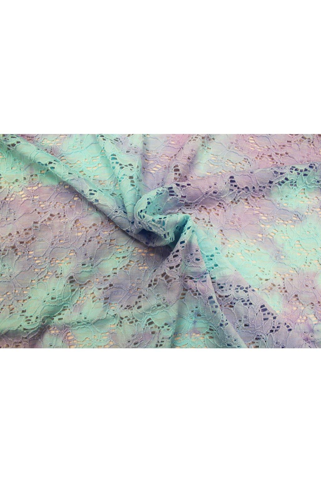 Krajka lycra batika