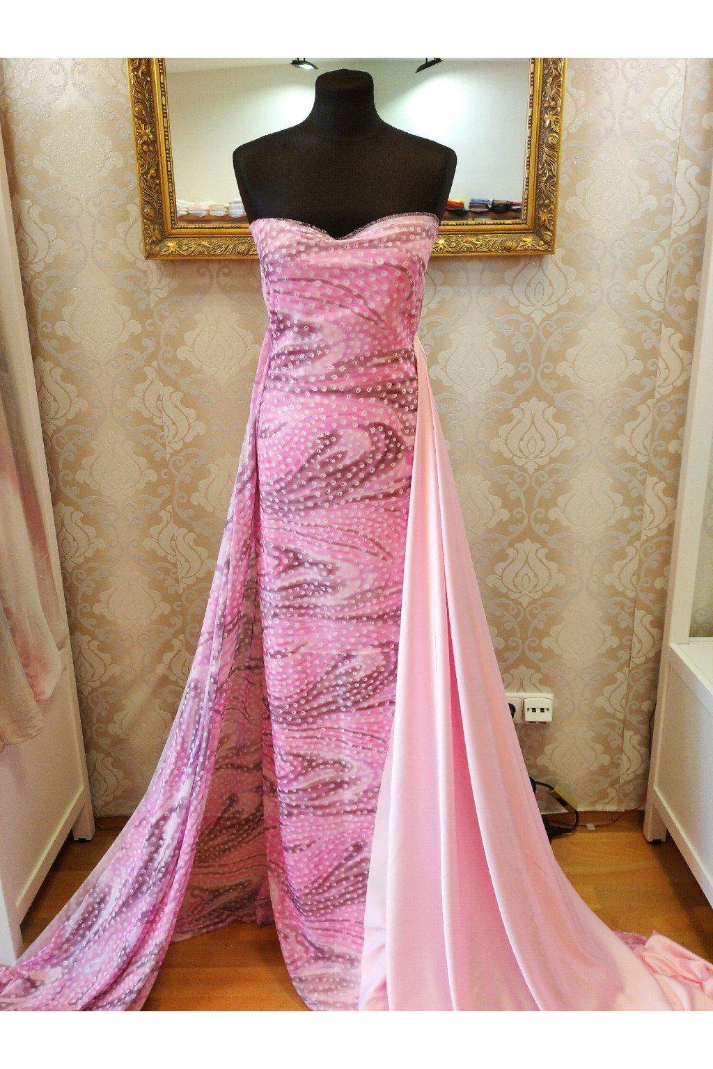 Šifon pink stíny