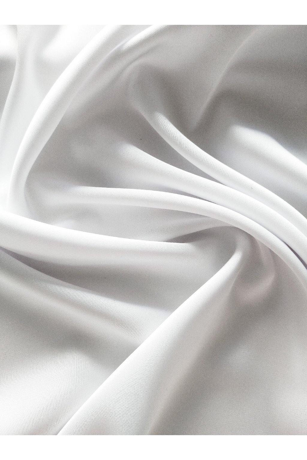 Hedvábí -bílé