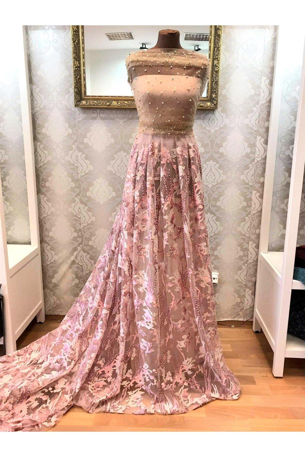 Krajka romantic pink