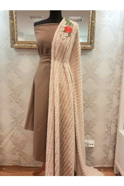 Vlna kostýmová Elvíra camel