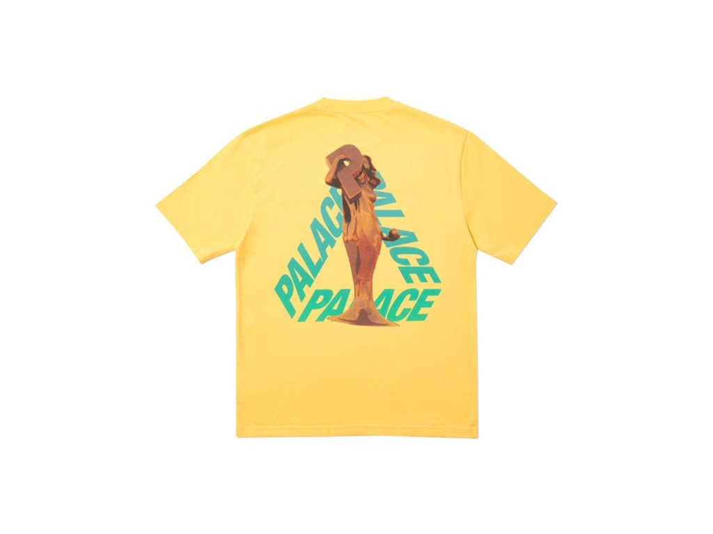 Palace Rolls P3 T Shirt Yellow 2