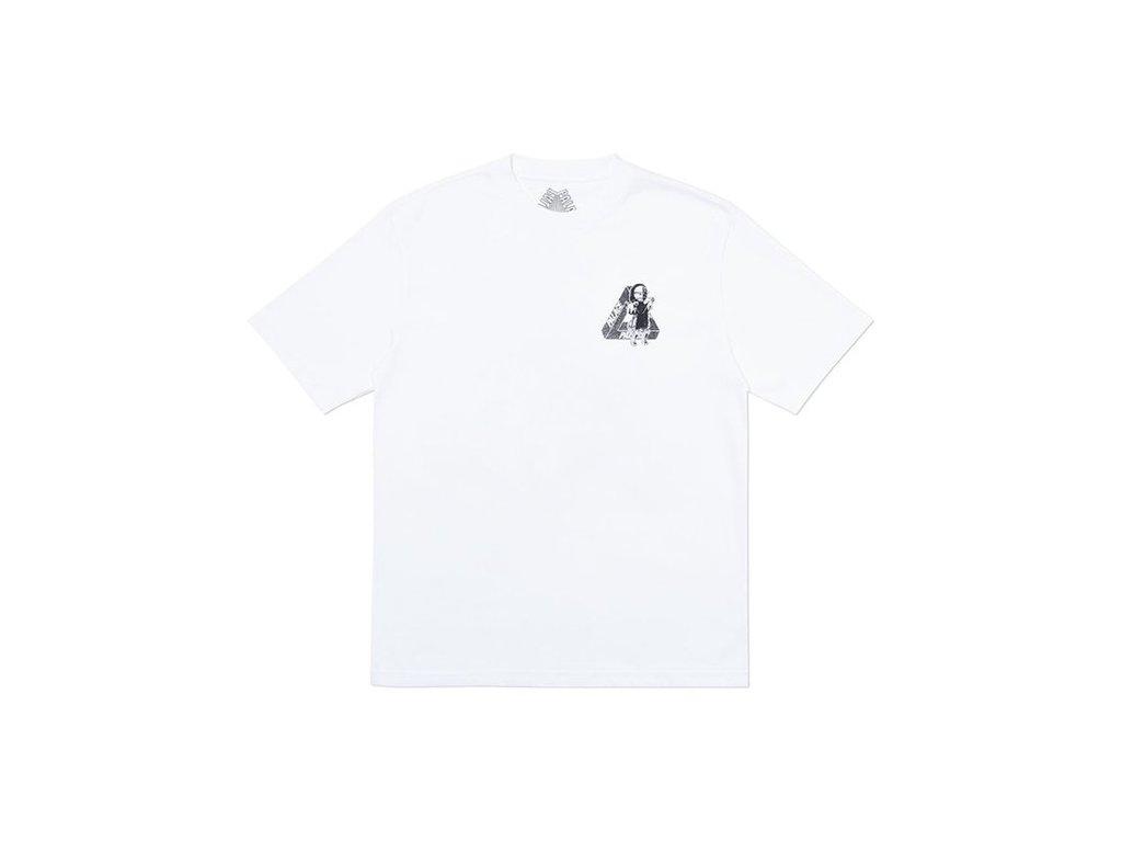 Palace U Figure T Shirt White