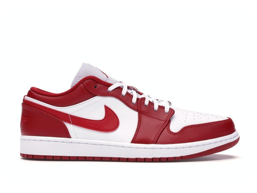 Jordan 1 Low Gym Red White (Velikost 40.5)