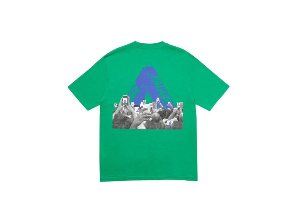 Palace Tri Phone T Shirt Green 2