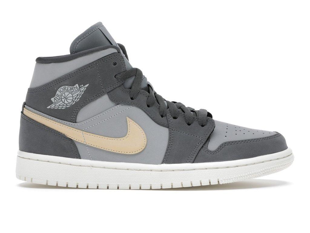 Jordan 1 Mid Grey Onyx (W) (Velikost 36)