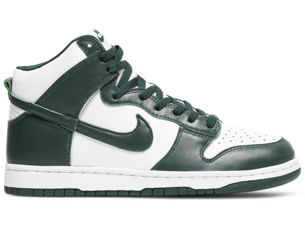Nike Dunk High Spartan Green (Velikost 38.5)