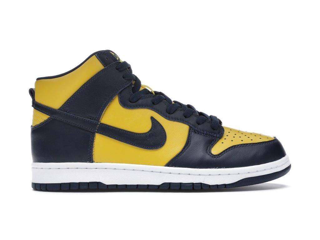 Nike Dunk High Michigan (Velikost 43)