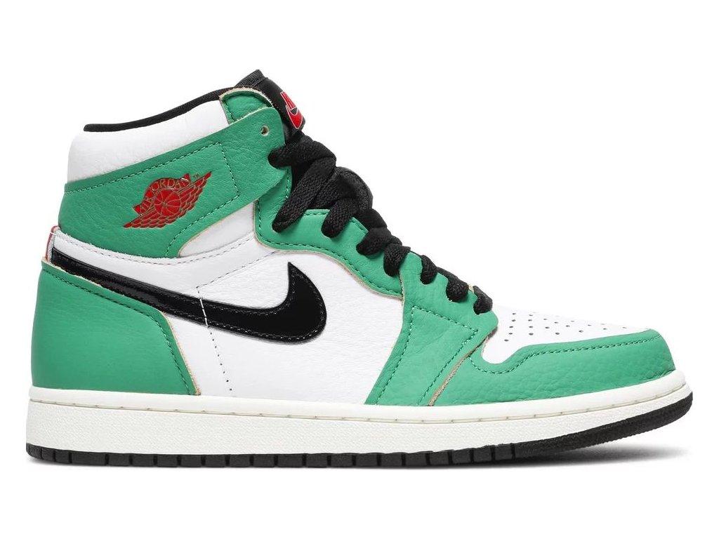 Jordan 1 Retro High Lucky Green (W) (Velikost 35.5)