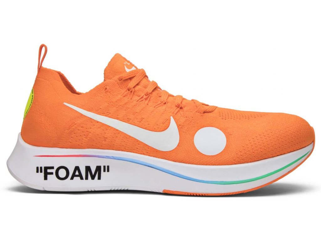 Zoom Fly Mercurial Off-White Total Orange (Velikost 39)