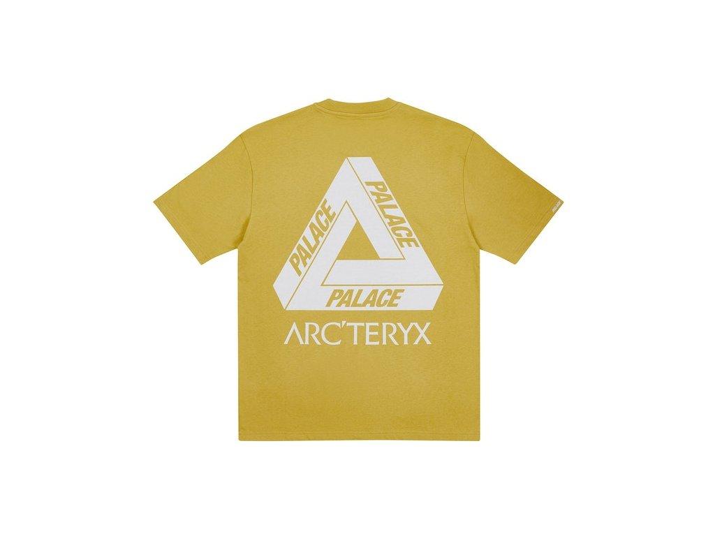 Palace ArcTeryx T Shirt Gold