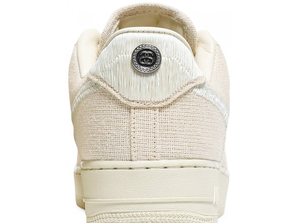 Nike Air Force 1 Low Stussy Fossil (Velikost 37.5)