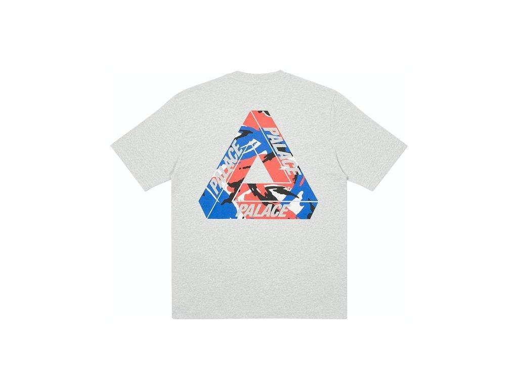 Palace Tri Camo T Shirt Grey Marl