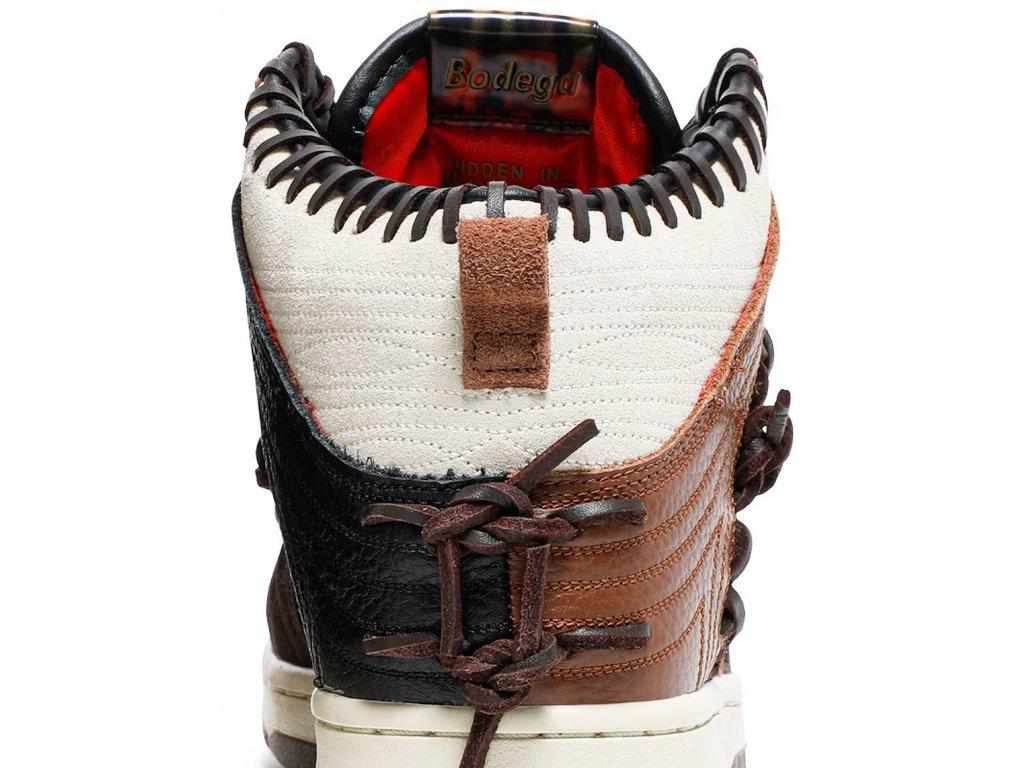 Nike Dunk High Bodega Legend Fauna Brown (Velikost 42.5)