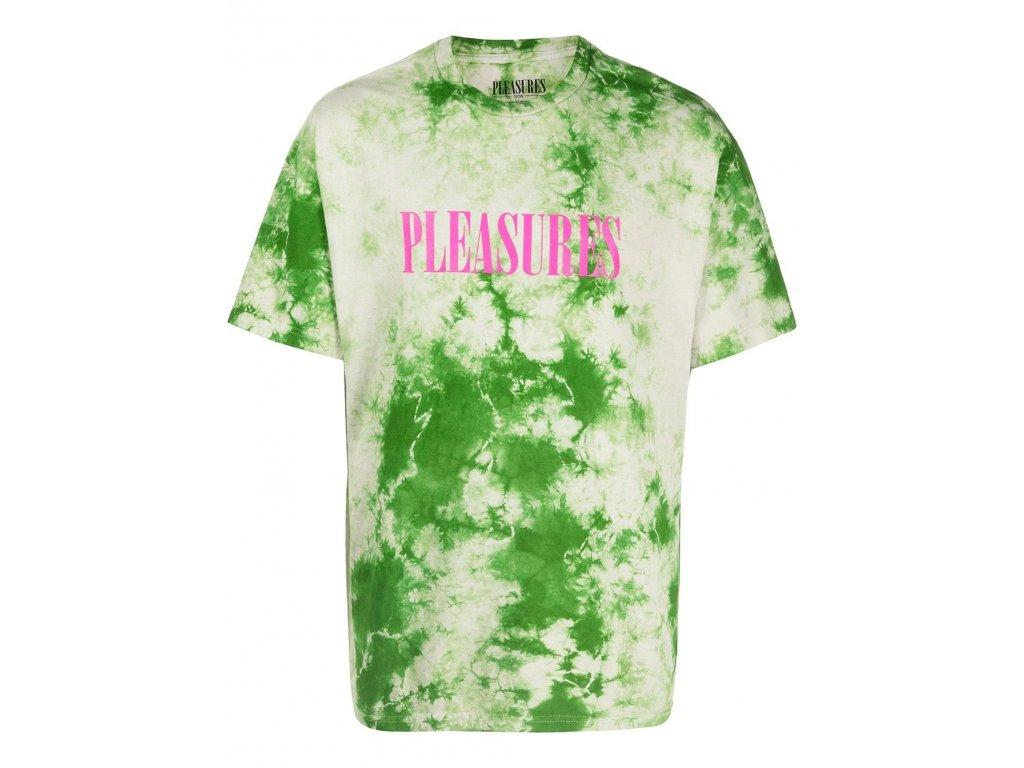 Pleasures Aroma Crystal Dye Shirt Natural Green (Velikost L)