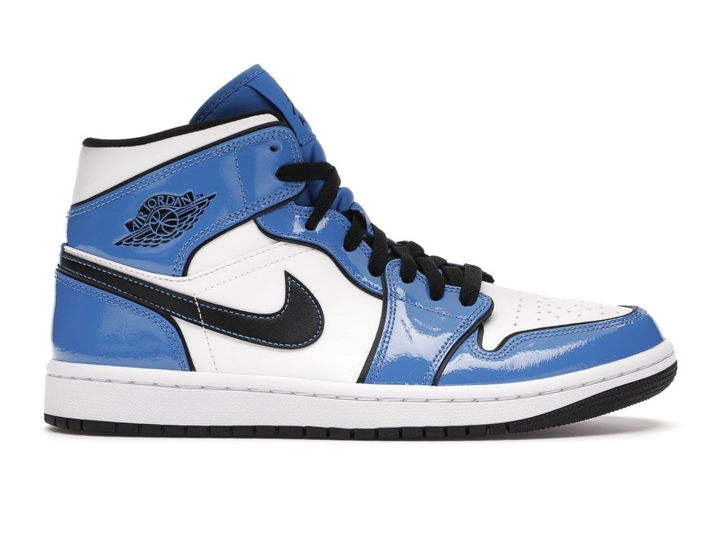 Jordan 1 Mid Signal Blue (Velikost 40)