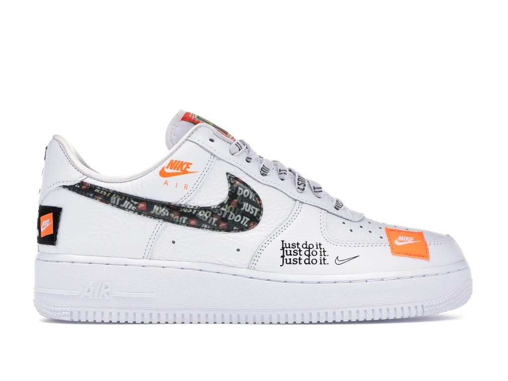 Air Force 1 Low Just Do It Pack White/Black (Velikost 45)
