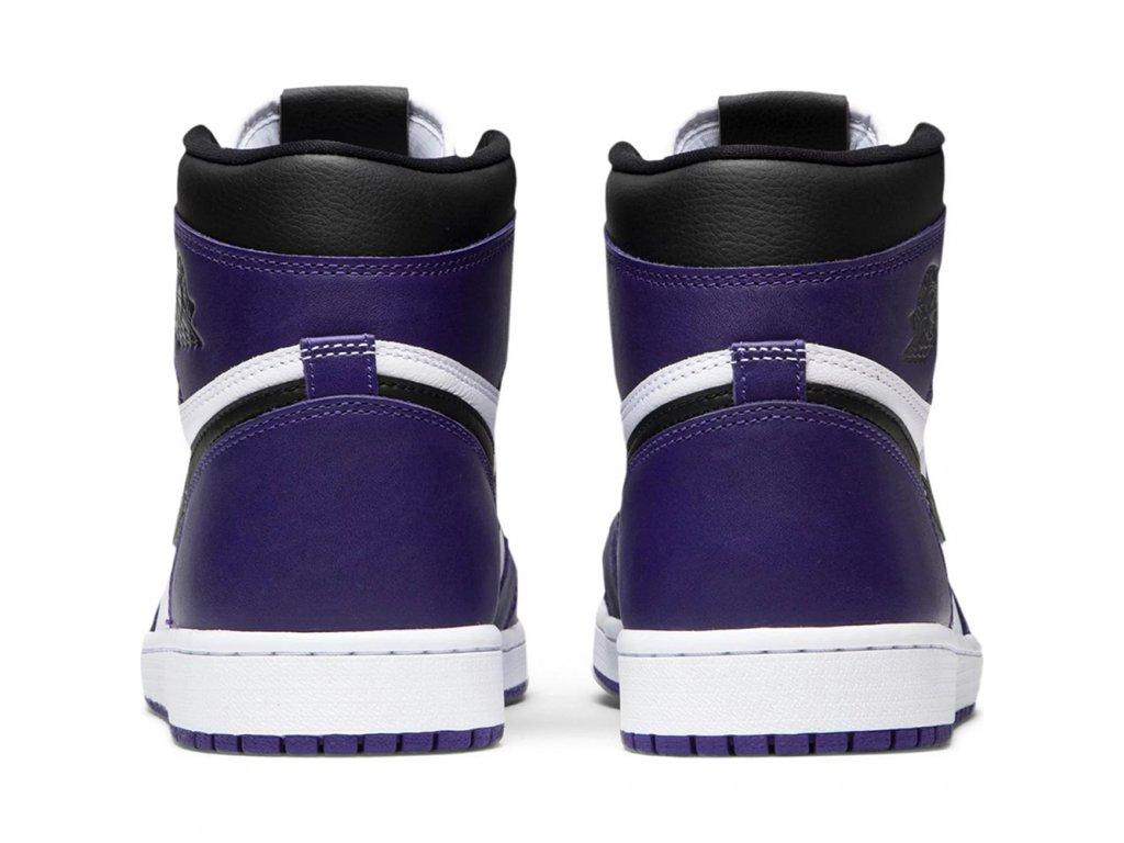 Air Jordan Retro 1 High Court Purple (Velikost 40)
