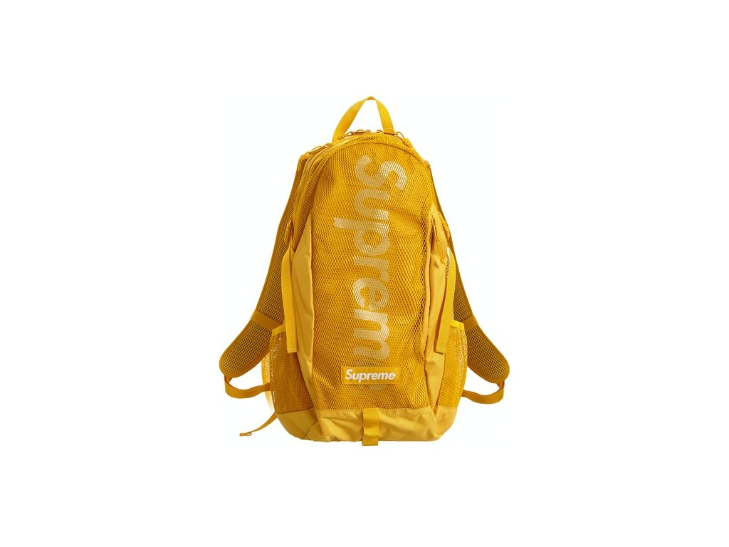 Supreme Backpack SS20 Gold