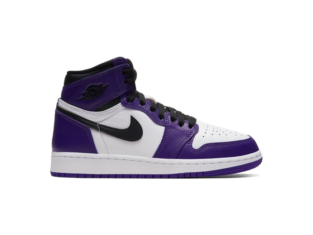 Air Jordan Retro 1 High Court Purple (GS) (Velikost 36)