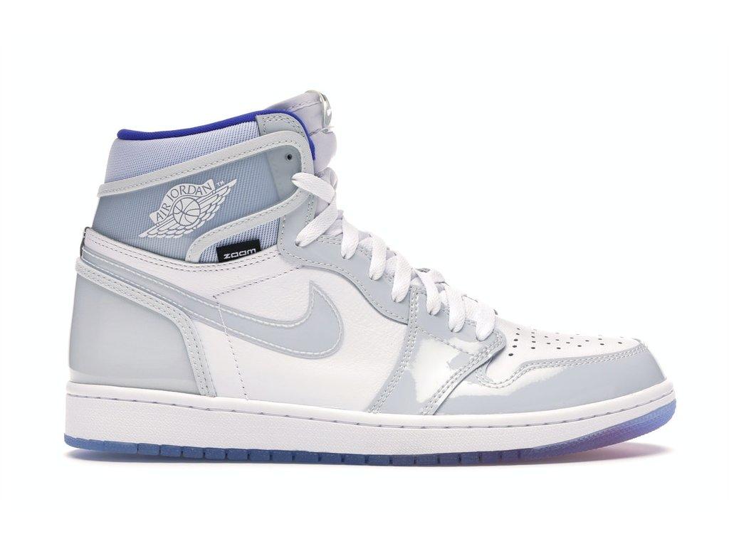 Jordan 1 Retro High Zoom White Racer Blue (Velikost 41)
