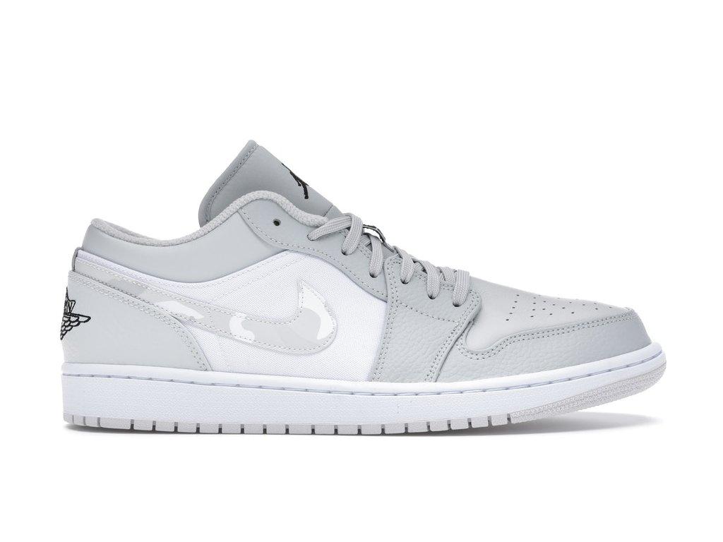 Jordan 1 Low Grey Camo (Velikost 40)