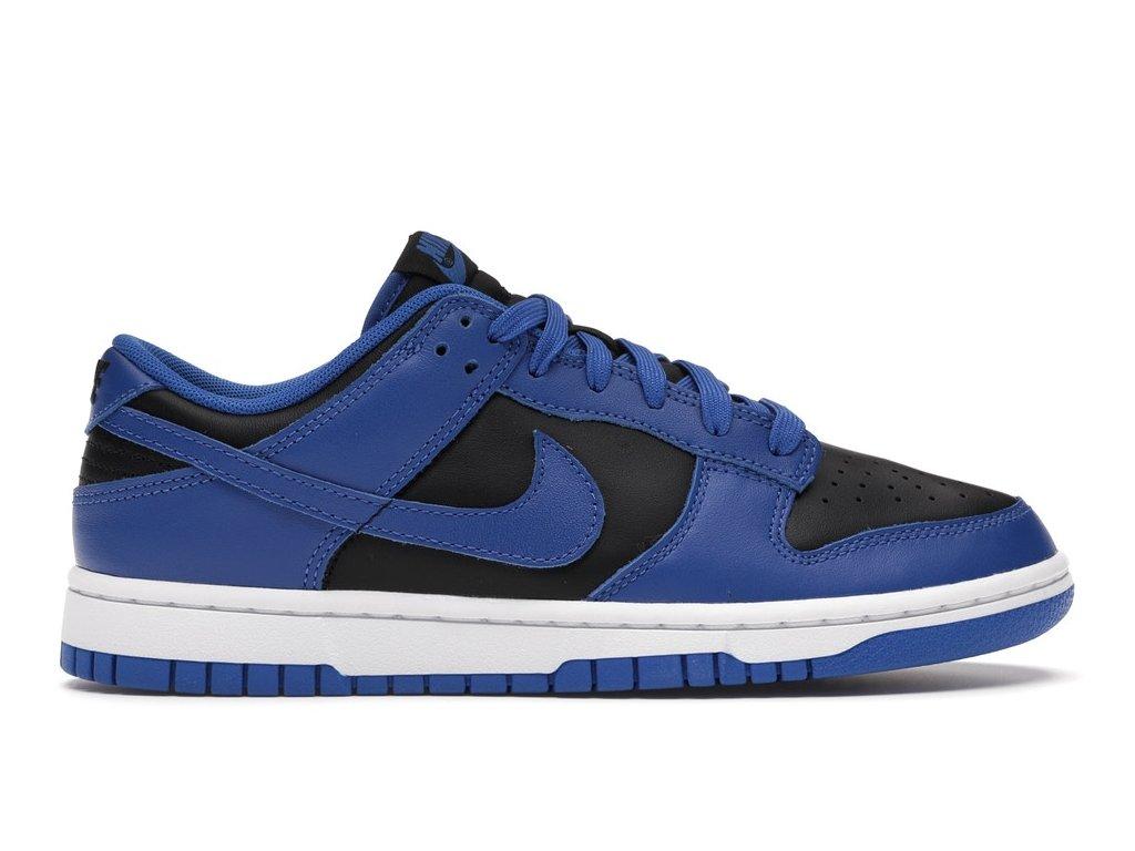 Nike Dunk Low Retro Black Hyper Cobalt (Velikost 40.5)