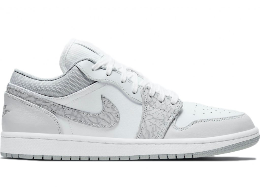jordan 1 low prm elephant grey
