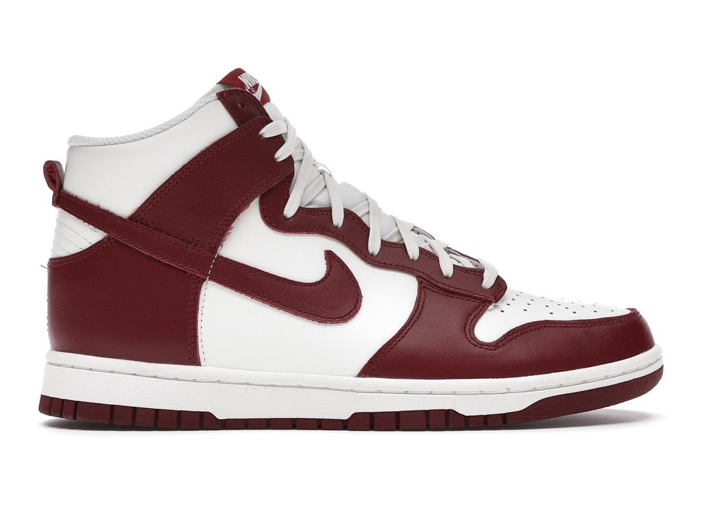 Nike Dunk High Sail Team Red (W) (Velikost 37.5)