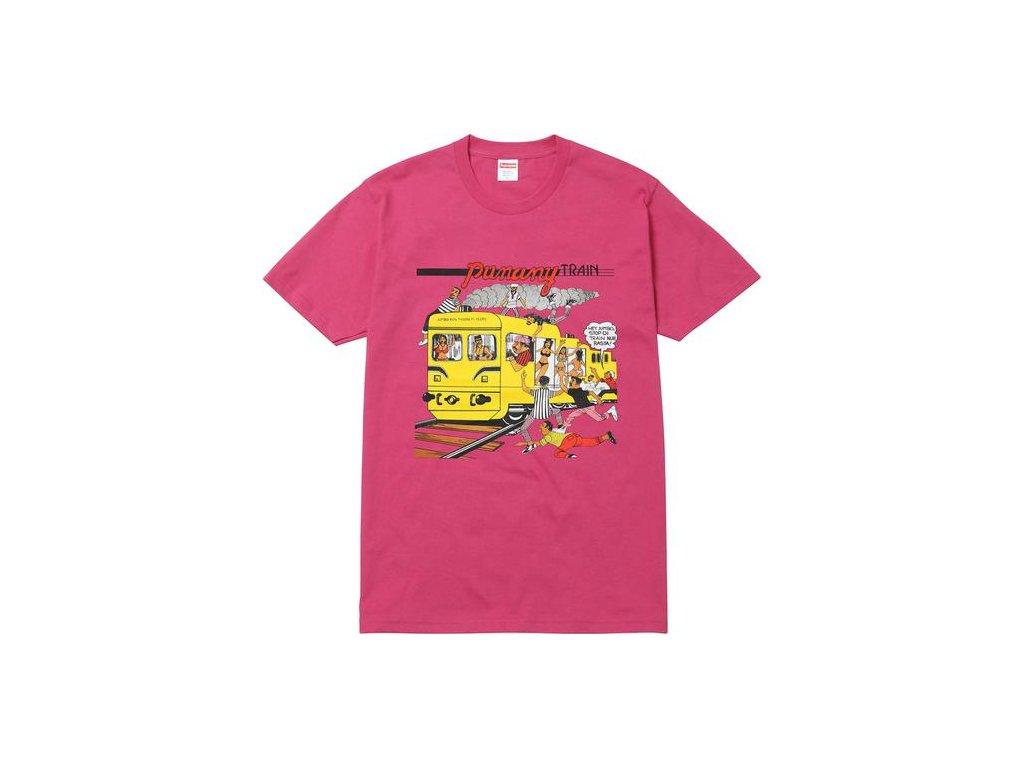 punany train tee pink