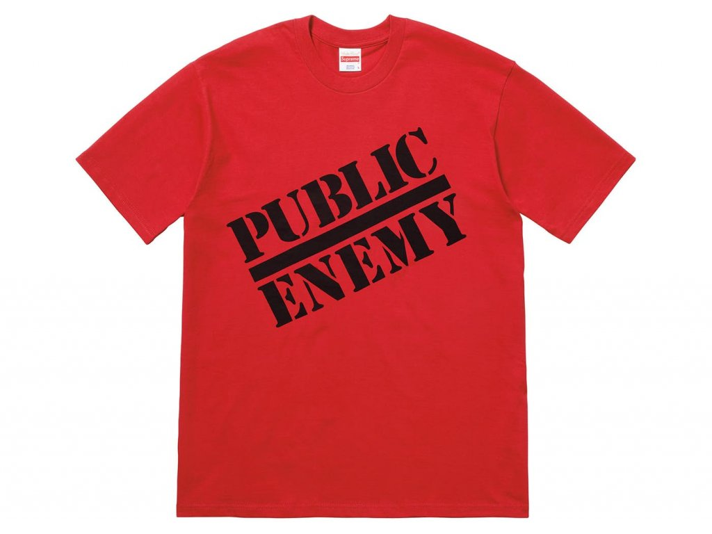 Supreme UNDERCOVER Public Enemy Tee Red